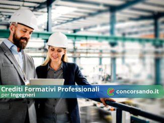 Crediti Formativi Professionali per Ingegneri