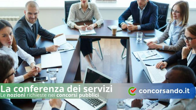 La conferenza dei servizi