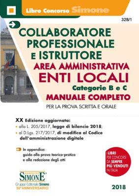 Manuale Concorsi Collaboratore Professionale e Istruttore Area Amministrativa Enti Locali