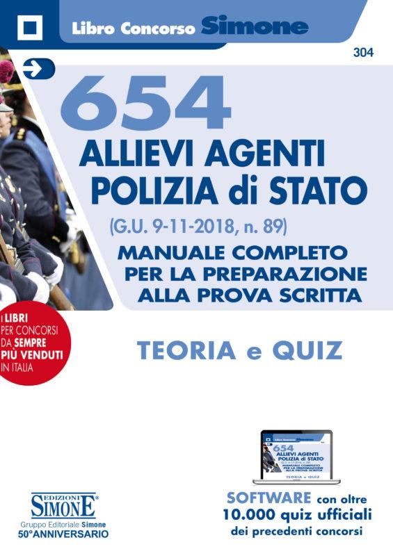 Manuale Concorso 654 Allievi Agenti Polizia di Stato