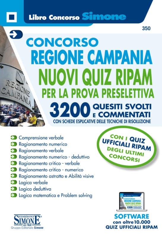 Concorso Regione Campania 2019 – Quiz di logica per la prova preselettiva