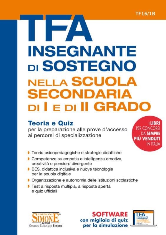 Manuale TFA sostegno – Scuola secondaria di I e II grado
