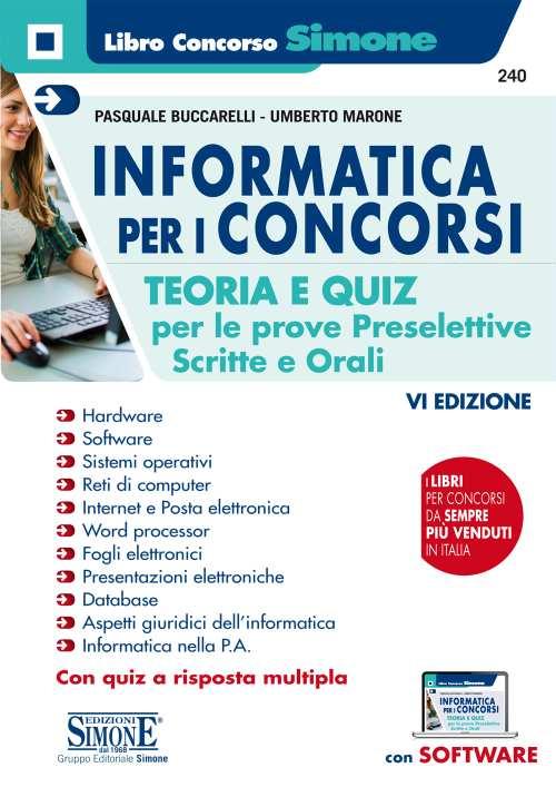 Manuale informatica per concorsi pubblici