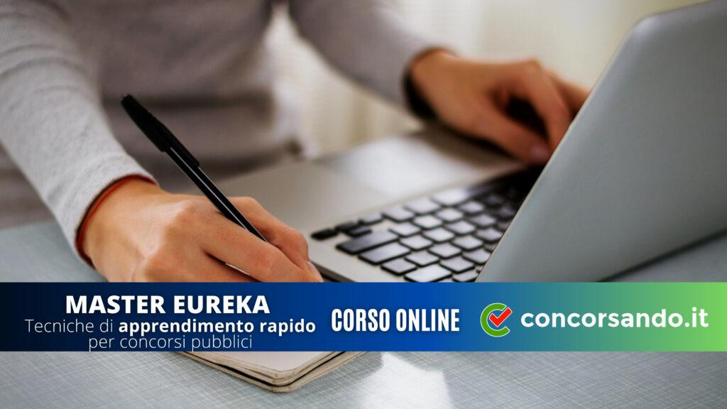 Master Eureka Corso di apprendimento rapido per concorsi pubblici