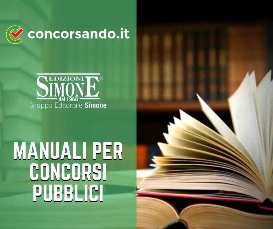 Manuali per concorsi Pubblici