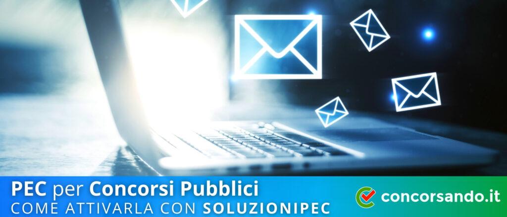 Pagina PEC per Concorsi Pubblici