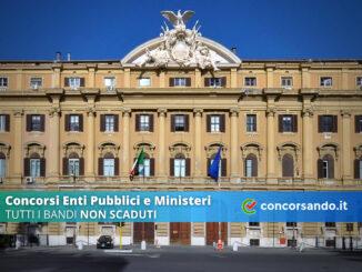 Concorsi Enti Pubblici e Ministeri