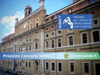 Prossimi Concorsi MIBACT