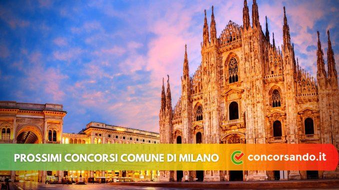 Prossimi concorsi comune di Milano