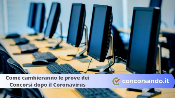 Prove dei concorsi coronavirus