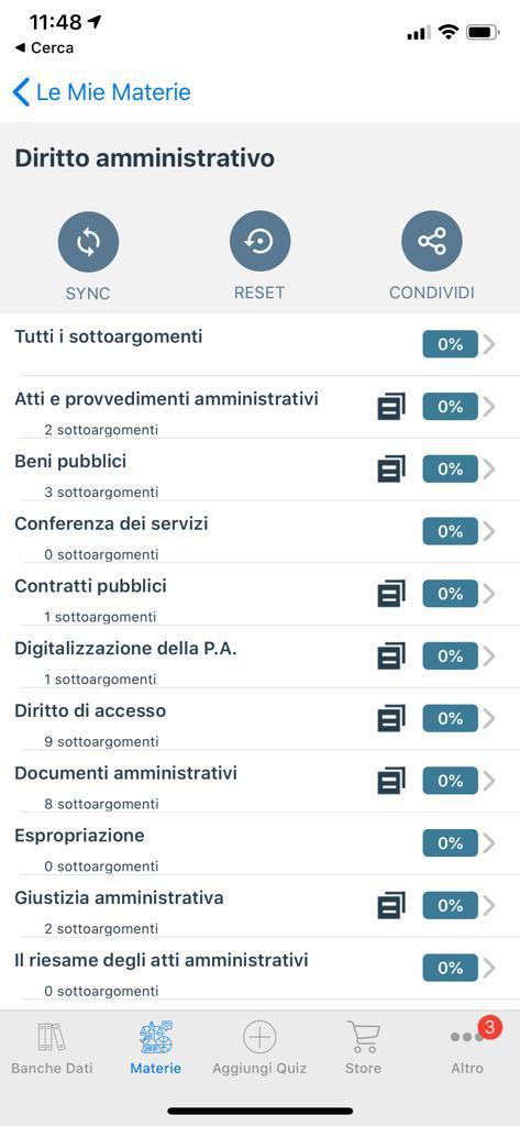 Quiz Diritto amministrativo