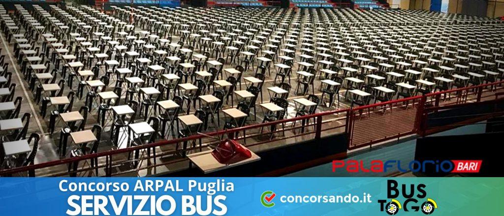 Servizio BUS Concorso ARPAL Puglia