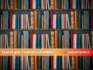 Storia per Concorsi Pubblici