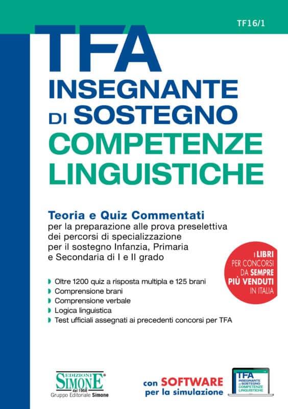 TFA Insegnante di sostegno – Competenze Linguistiche – Teoria e Quiz Commentati