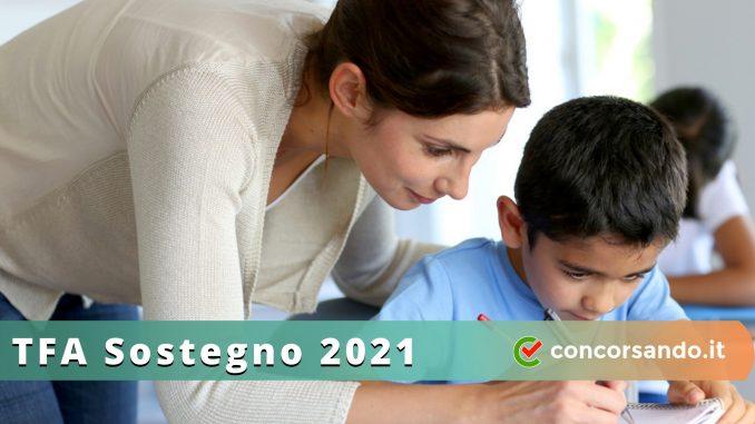 TFA Sostegno 2021