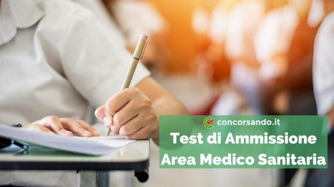 Test di Ammissione Area Medico Sanitaria