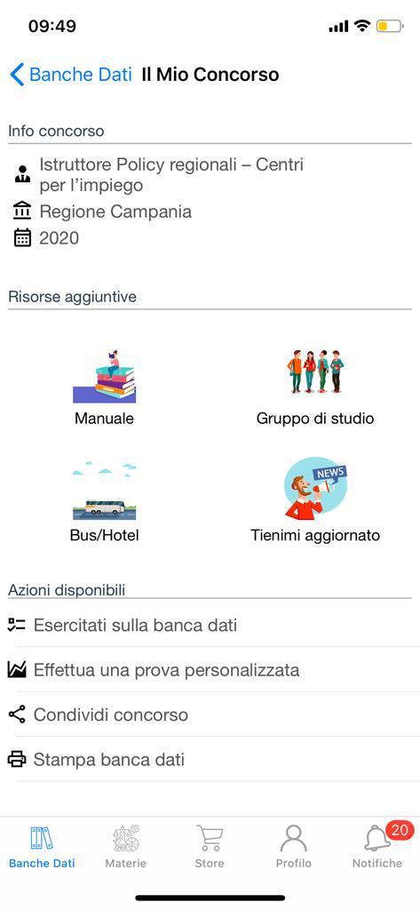 Banca Dati Istruttore Policy Regionali Centri impiego Campania