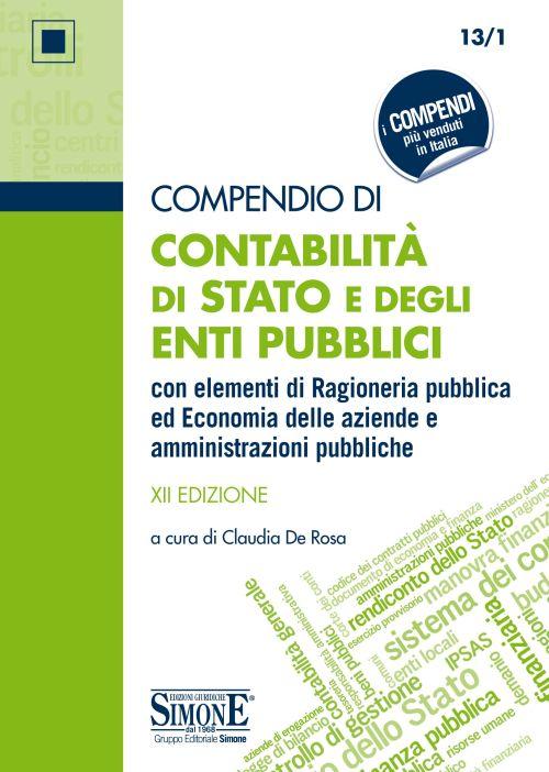 Compendio Contabilità di Stato e degli Enti Pubblici