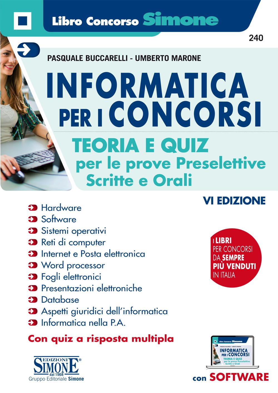 Elementi di Informatica per Esami e Concorsi pubblici