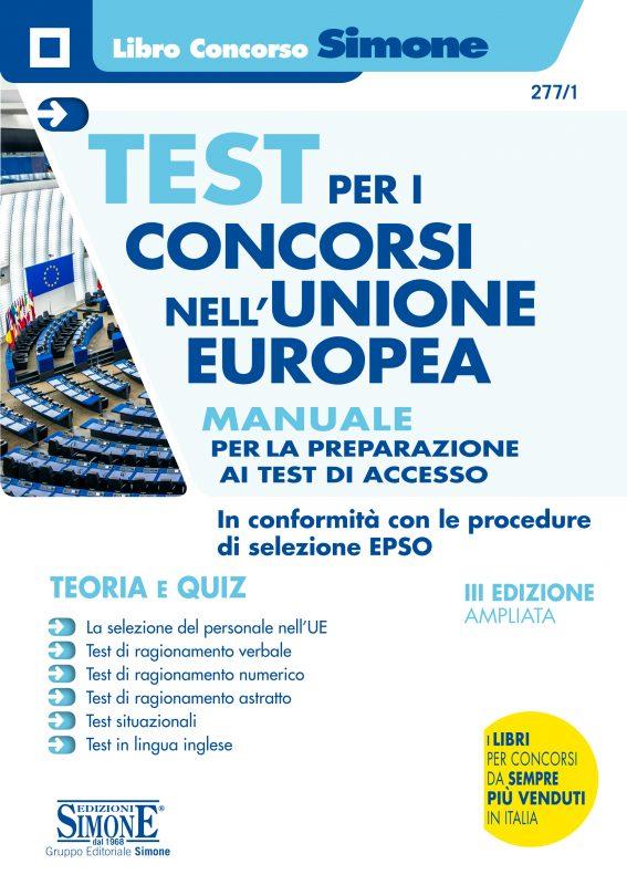Test per i concorsi nell'Unione Europea – Manuale