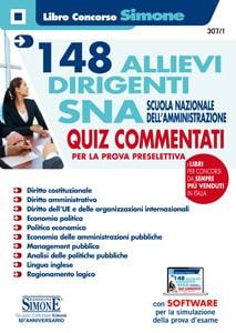 Concorso Allievi Dirigenti Scuola Nazionale dell'Amministrazione (SNA) – Quiz commentati per la preparazione alla prova preselettiva