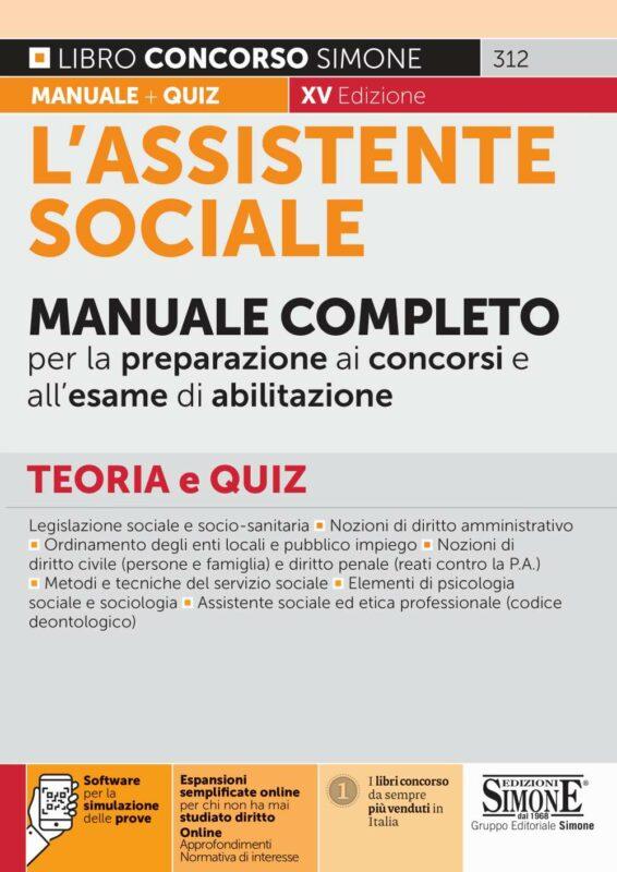 L'assistente sociale – Manuale Completo