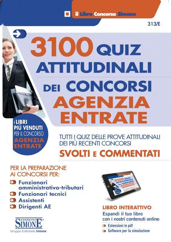 3100 Quiz Attitudinali dei Concorsi Agenzia Entrate