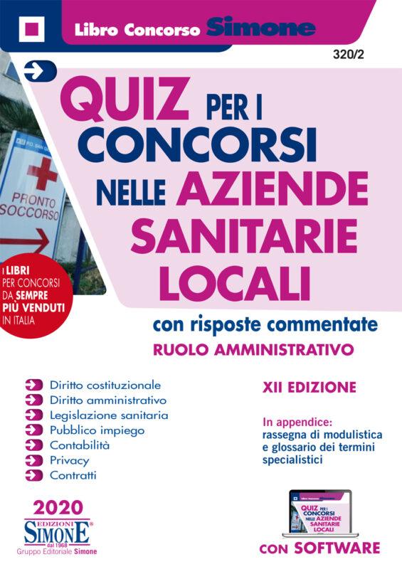 Quiz per i Concorsi nelle Aziende Sanitarie Locali con risposte commentate – Ruolo Amministrativo