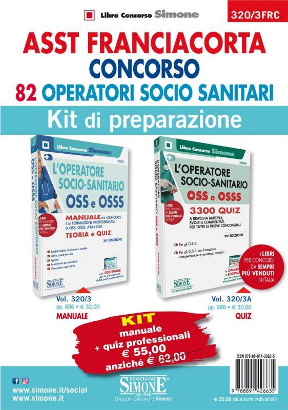 ASST Franciacorta – Concorso 82 Operatori Socio Sanitari – KIT di preparazione (320/3 + 320/3A)