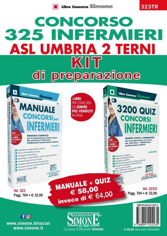 Concorso 325 Infermieri ASL Umbria 2 Terni – KIT di preparazione