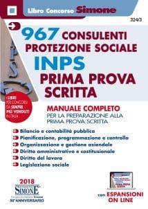 Manuale Concorso Consulenti Protezione Sociale INPS – Prima Prova Scritta e Prova Orale