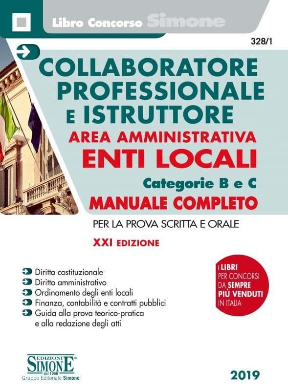 Manuale Concorsi Collaboratore Professionale e Istruttore Area Amministrativa Enti Locali – Categorie B e C