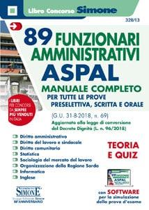 Concorso Funzionari Amministrativi ASPAL – Manuale completo
