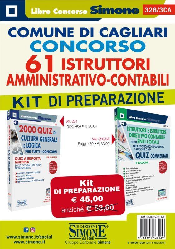 Comune di Cagliari – Concorso 61 Istruttori amministrativo-contabili – KIT di preparazione
