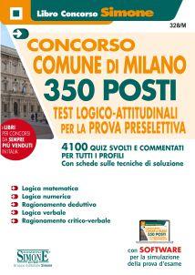 Concorso Comune di Milano – 350 Posti – Test Logico-Attitudinali per la prova preselettiva – Quiz