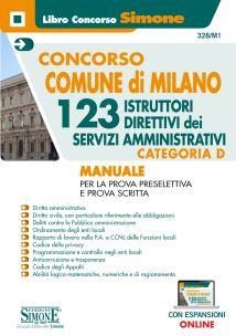 Concorso comune di Milano – 123 Istruttori Direttivi dei servizi Amministrativi – Categoria D – Manuale