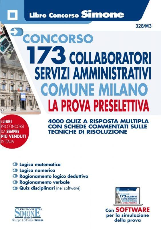 Concorso 173 Collaboratori Servizi Amministrativi Comune Milano – La prova preselettiva