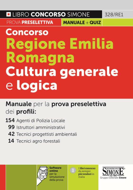 Concorso Regione Emilia Romagna Cultura generale e logica