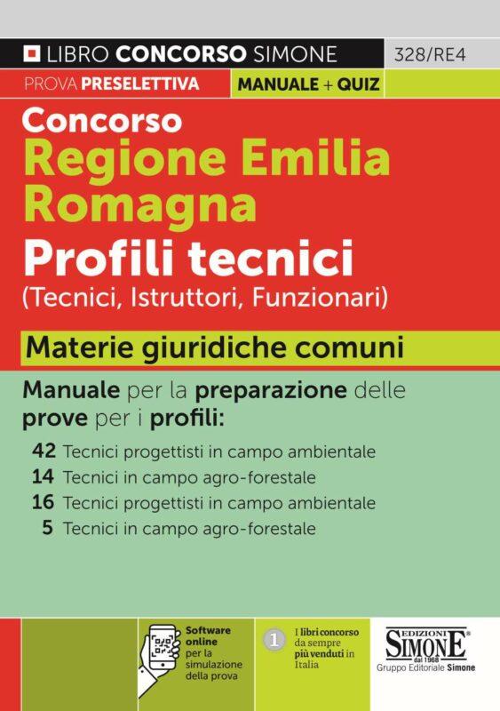 Concorso Regione Emilia Romagna Profili tecnici Materie giuridiche comuni