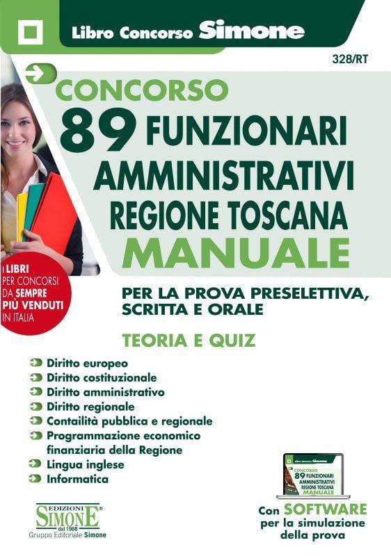 Concorso 89 Funzionari Amministrativi Regione Toscana – Manuale
