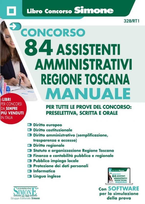 Concorso 84 Assistenti Amministrativi Regione Toscana – Manuale Completo