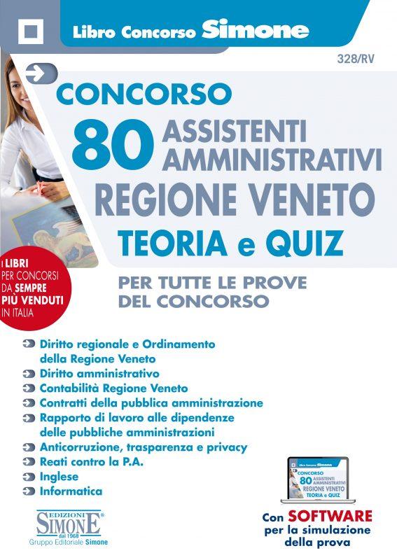 Concorso 80 Assistenti Amministrativi Regione Veneto – Teoria e Quiz