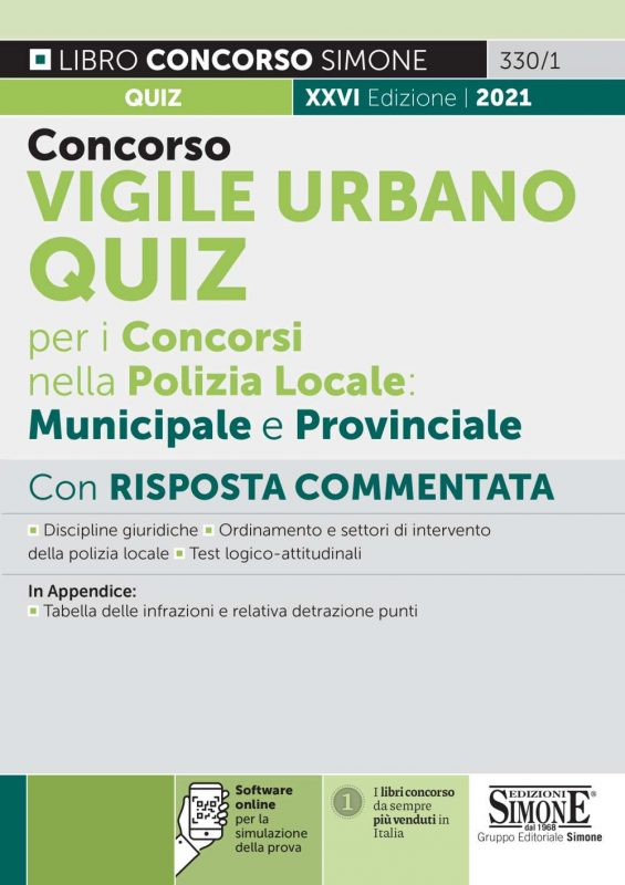 Concorso Vigile Urbano – Quiz per i Concorsi nella Polizia Locale: Municipale e Provinciale