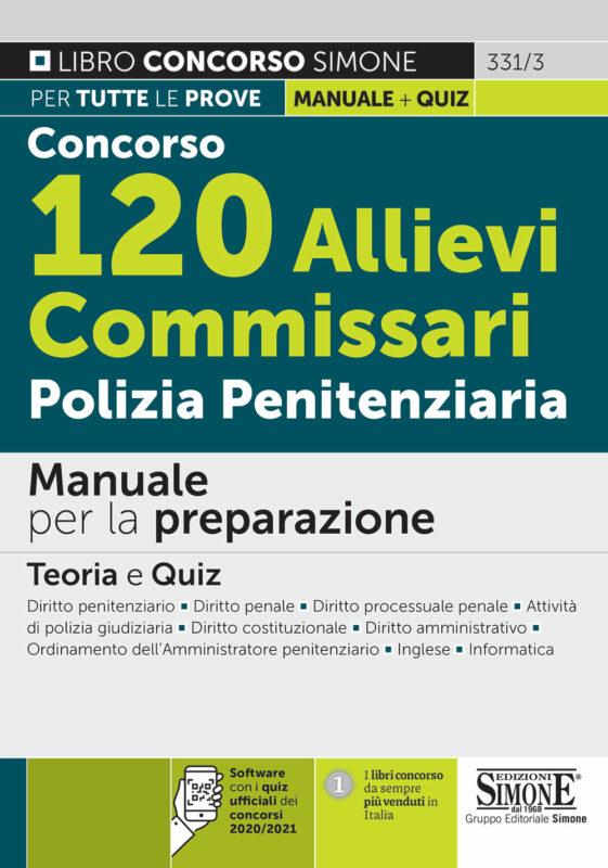 Concorso 120 Allievi Commissari Polizia Penitenziaria – Manuale per la preparazione