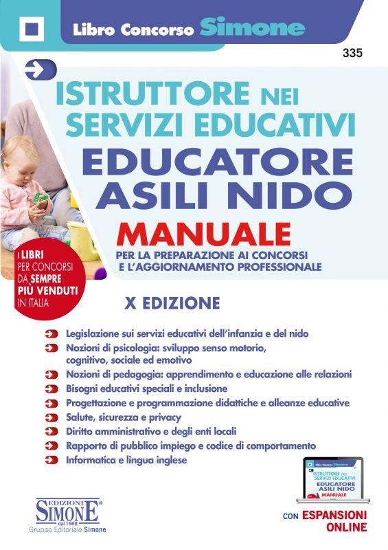 Istruttore nei Servizi Educativi – Educatore Asili Nido – Manuale