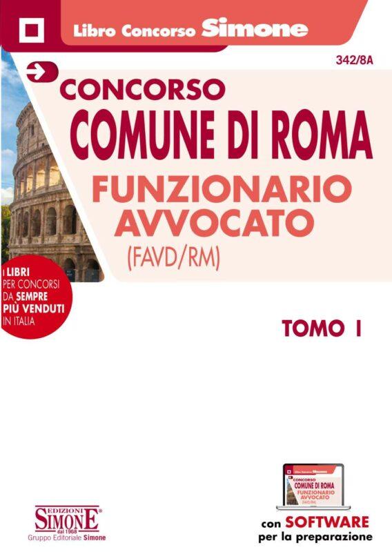 Concorso Comune di Roma Funzionario Avvocato – Due TOMI indivisibili