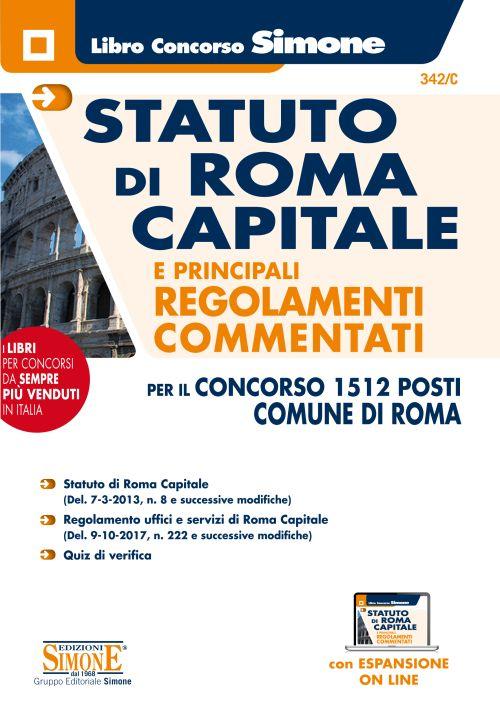 Statuto di Roma Capitale e principali Regolamenti Commentati