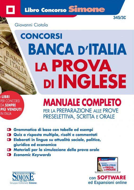 Concorsi Banca d'Italia La prova di Inglese – Manuale Completo
