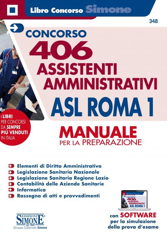 406 Assistenti amministrativi ASL Roma 1 – Manuale per la preparazione