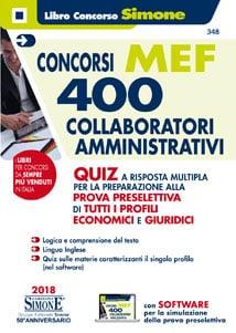 Concorsi MEF – 400 Collaboratori Amministrativi – Quiz